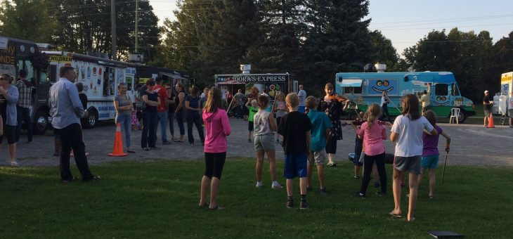 Twinkle Strings at Ancaster Holy Food Trucks